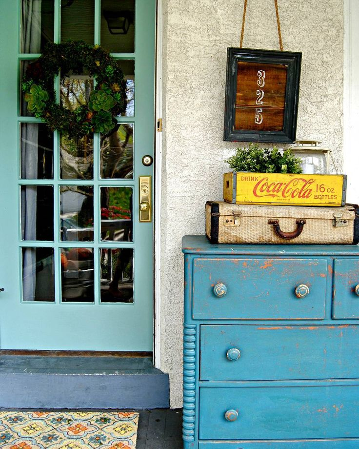 15 Fabulous Designs For Your Front Entry: 17 Best Ideas About Aqua Front Doors On Pinterest