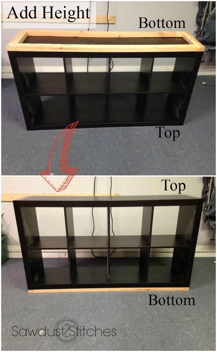 Transform a Bookcase into an Apothecary