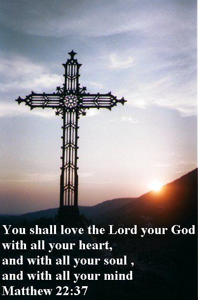 Matthew 22 : 37