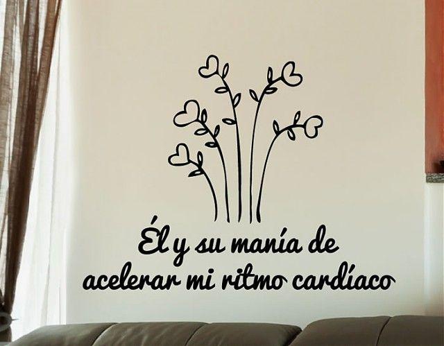 #Vinilos# Románticos Él y su manía de acelerar mi ritmo cardíaco 03248