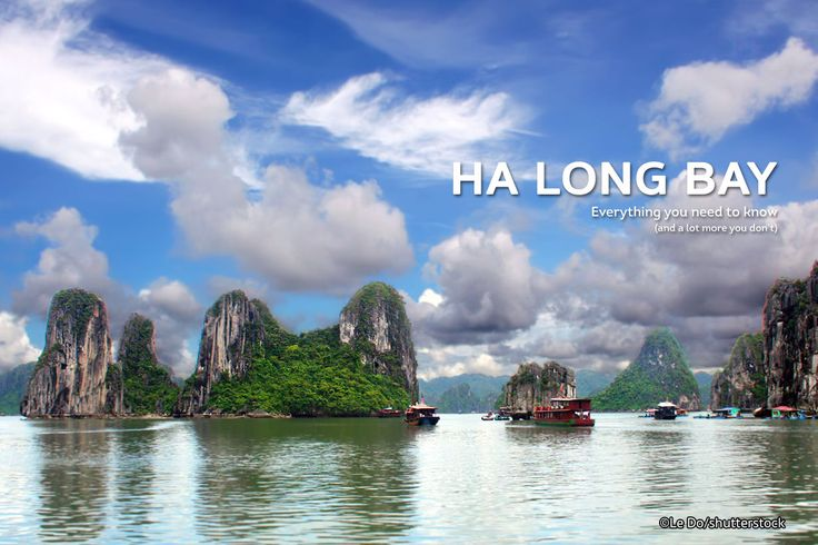 Halong Bay is a beautiful natural wonder in northern Vietnam near the Chinese border. The Bay is dotted with 1,600 limestone islands and islets and covers an area of over 1,500 sqkm. This extraordinary area was declared a UNESCO World Heritage Site in 1994. For many tourists, this