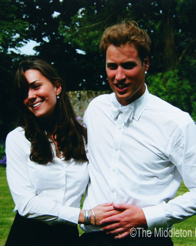 Prince William met Kate Middleton when they were freshmen studying art history at St. Andrew's University in Scotland — and by the spring, they were searching for an apartment to share their second year. They officially started dating in 2003 and lived together with two other friends until graduation (here, on June 23, 2005).  - GoodHousekeeping.com