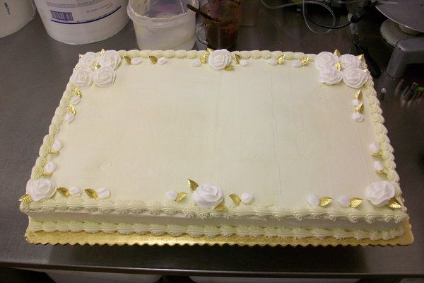 Sheet Cake Designs For Anniversary : 11 best images about special occassion on Pinterest ...