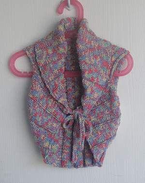 Cotton Twirl Childs Shrug - free knit shrug pattern for girls - Crystal ...