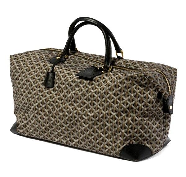 Goyard's travelling bag!