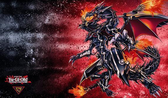 Playmat Mouse Pad Red Eyes Flare Metal Dragon 01 Black Dragon Red Eyes Eyes Wallpaper