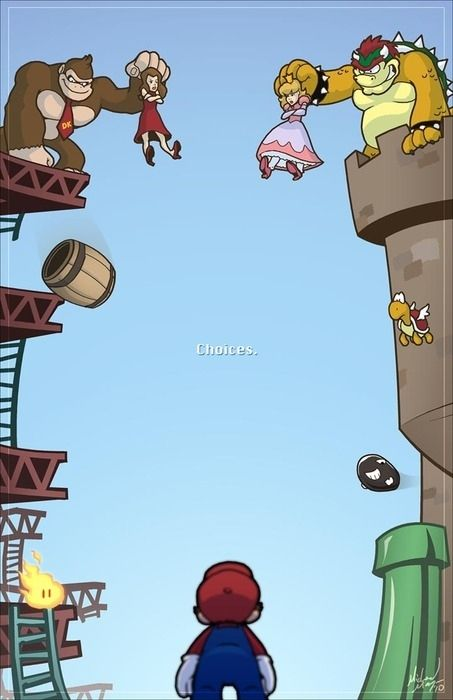 Donkey Kong and Mario