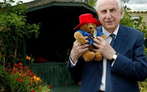 """2. Paddington might never have existed if Michael Bond had done his Christmas shopping earlier Before his fictional version appeared on page, Paddington existed as a real teddy bear. Bond saw it """"left on a shelf in a London shop and felt sorry for it"""" on Christmas Eve 1956, and took it home as a present for his wife Brenda. The couple were living near Paddington Station at the time, so Bond named the bear Paddington and started to write stories about it, """"more for fun than with the idea of…"""