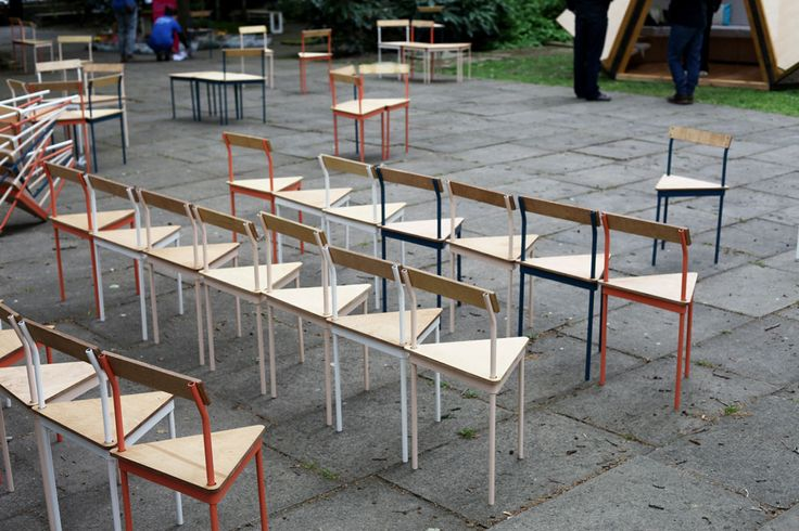 Triangle chairs and stools | Assemble studio  http://www.the-ag.com/product/triangle-chairs-assemble-studio/