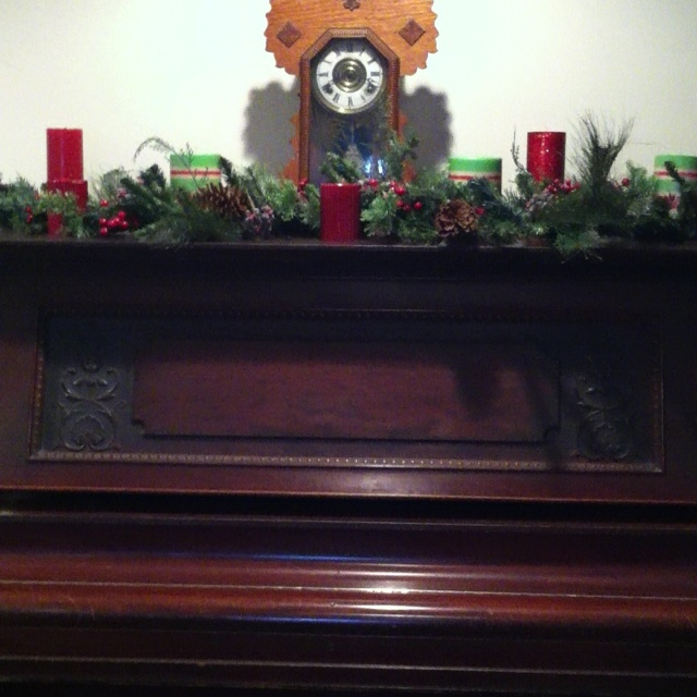 Piano christmas decorations holiday