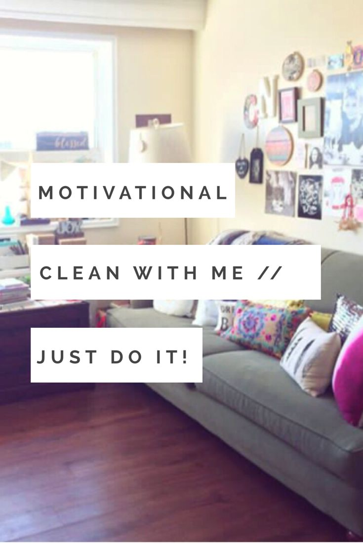 Watch this video if you need some cleaning motivation!! I had a lot of fun filming it!!