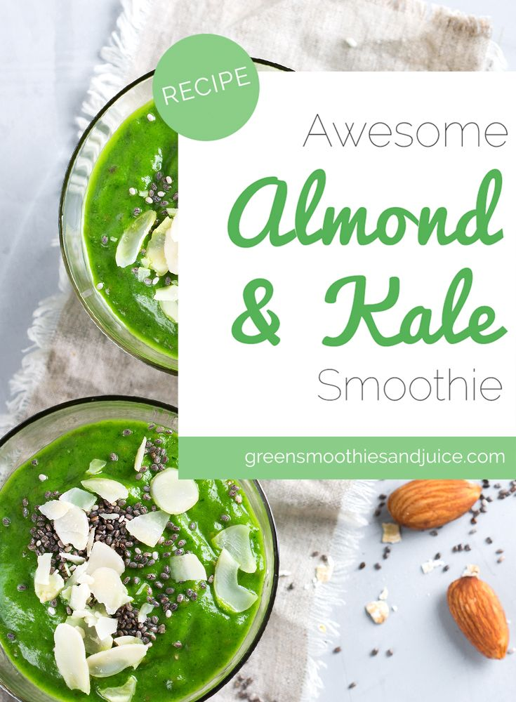 Do you know what's way creamier than putting almond milk into your smoothie?