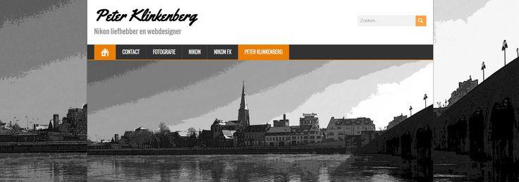 De website peterklinkenberg.nl is nog niet af maar het begin is er.