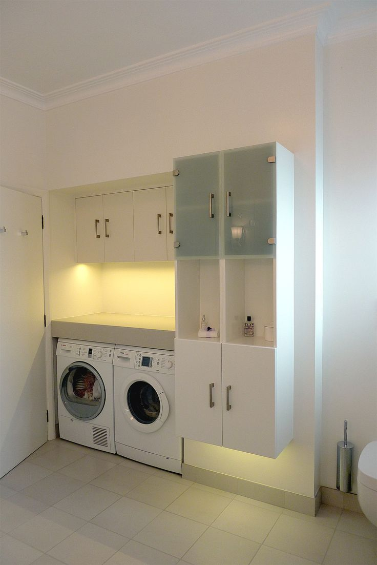 design arc Limited | Compact Laundry in Bathroom