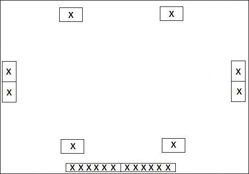 mattenchaosbal - vanaf ongeveer 15 leerlingen AK