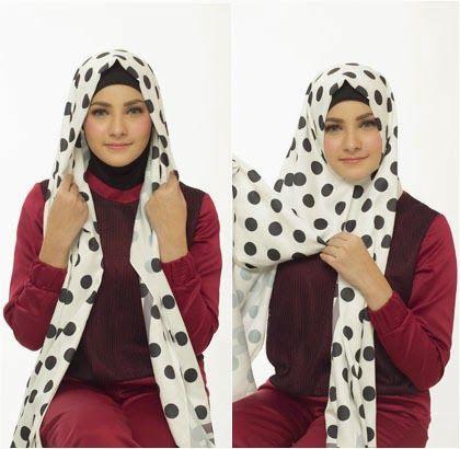 Tutorial Cara Memakai Hijab Modern Wanita Turki - http://linkagogo.com/go/To?url=105357680