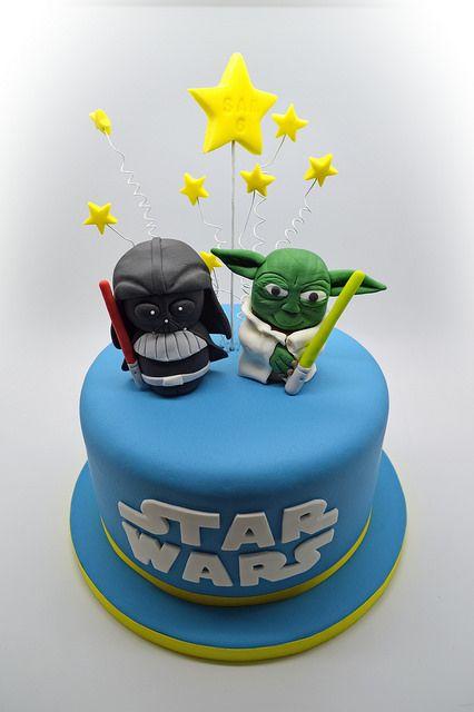 Pastel de Star Wars