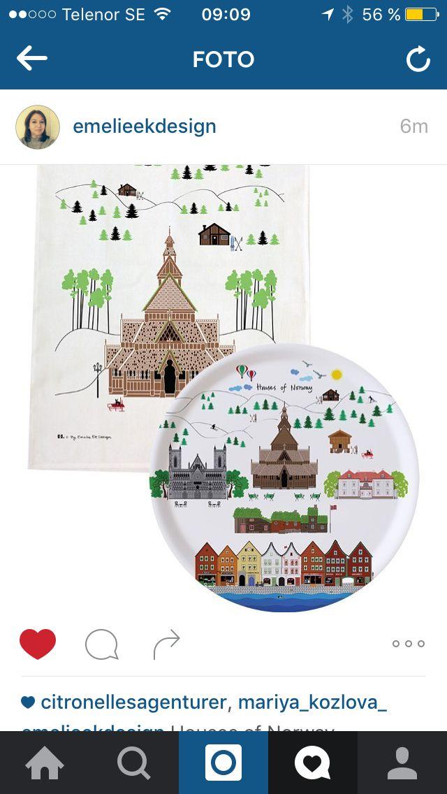 Houses of Norway by emelie Ek design