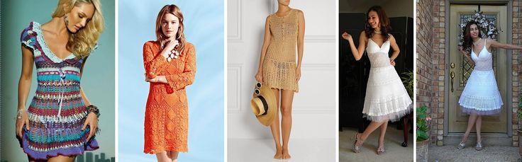 Amazing DIY Crochet Summer Dresses - http://theperfectdiy.com/amazing-diy-crochet-summer-dresses/ #DIY