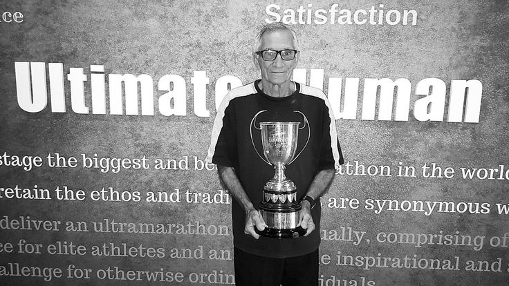 At the age of 74, Mike Evered-Hall is the oldest runner to finish #Comrades2016. It is his 23rd Comrades. Magic, Mike! #TheUltimateHumanRace