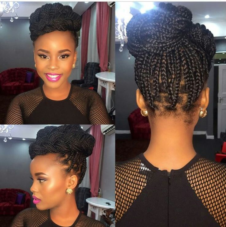 Single Braid Updo Style#perfect 4 any formal occasion