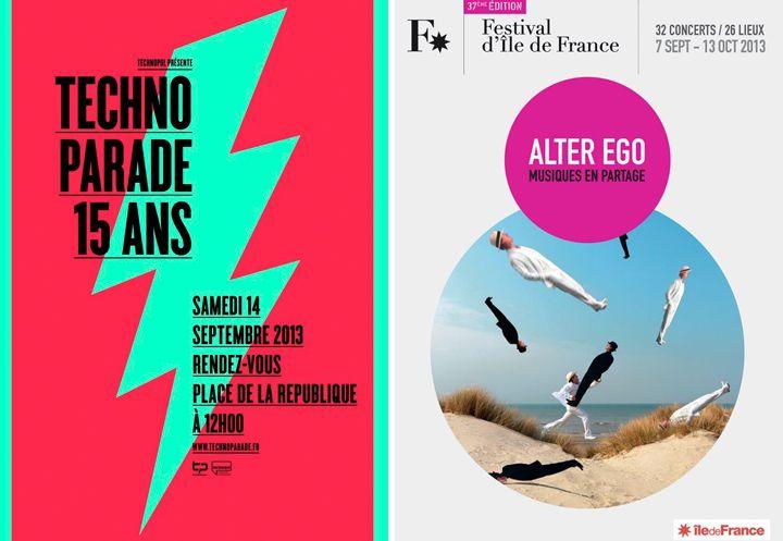 HiP Paris Blog, Techno Parade, Le Festival d'Ile de France, September Events