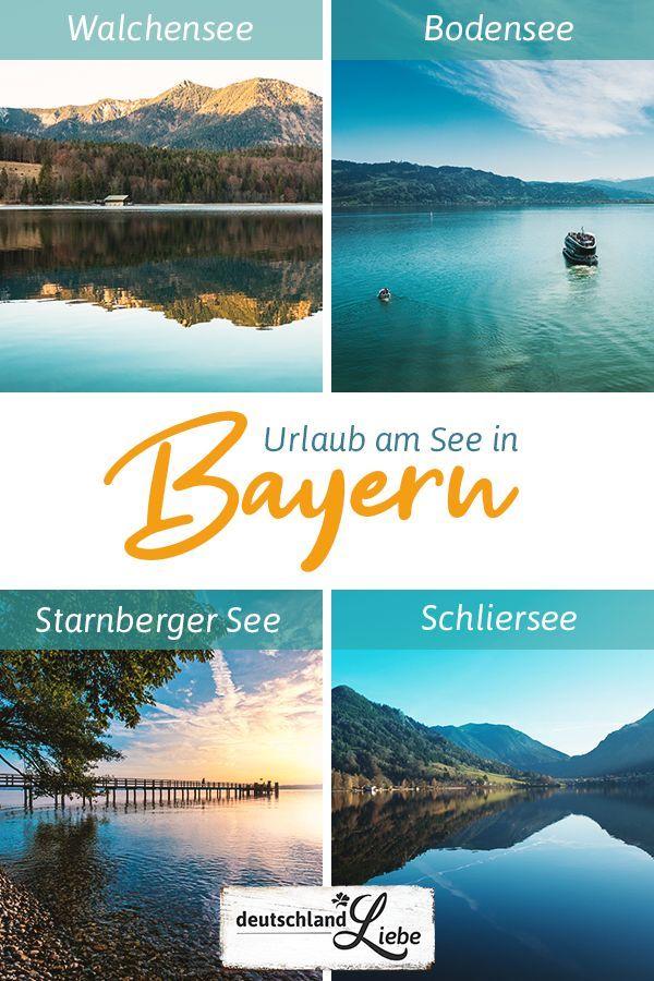 Urlaub am See in Bayern in 2020 Urlaub am see, Urlaub