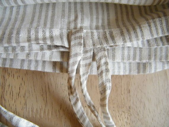 Twin  size duvet cover    Natural Linen bedding  Gray white