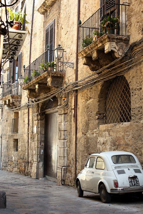 Palermo, Sicily (by the cherry blossom girl) #palermo