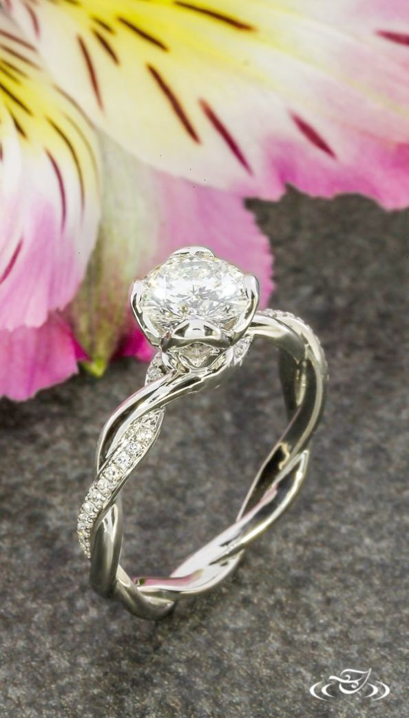 Amazing Beautiful Engagement Rings Without Diamonds Excellent