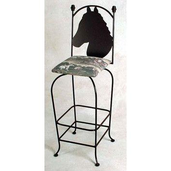 Grace equestrian 24 quot bar stool counter stools equestrian and stools