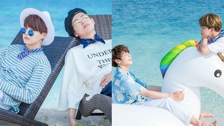 Big Hit Released Exclusive HD Photos from [2017 BTS Summer Package] That will Brighten up Your Day
