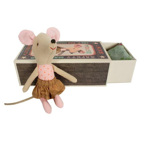 Big Sister Mouse in Box by Maileg | Wild and Whimsical Things www.wildandwhimsicalthings.com.au