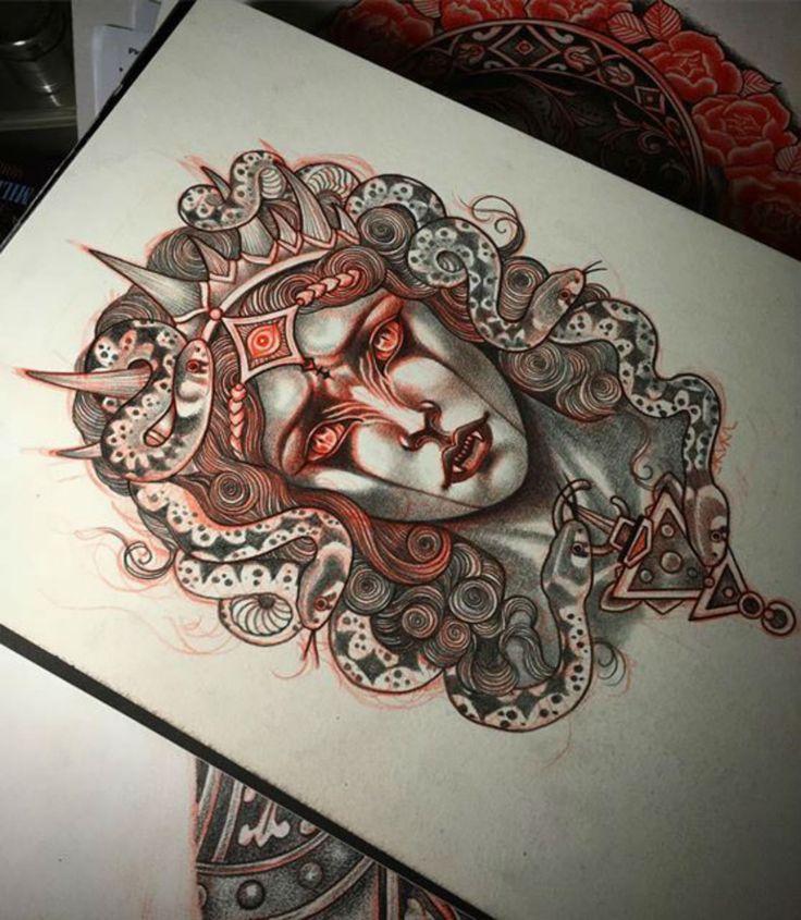 Best 25 vampire tattoo ideas on pinterest halloween - Wicked 3d tattoos ...