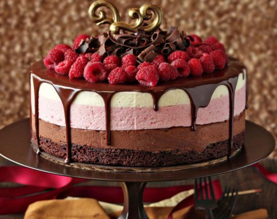 Chocolate Raspberry Mousse Cake Is A Stunner | The WHOot                                                                                                                                                                                 More