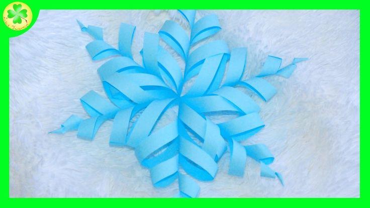 """Filmik ukazujący sposób tworzenia ślicznej, """"zakręconej"""", papierowej śnieżynki! :)  #śnieżynka #płatekśniegu #zima #dekoracjezimowe #film #filmik #youtube #YouTube #instrukcja #poradnik #sposóbwykonania #jakzrobić #zróbtosam #snowlake #twistedpapersnowflake #winter #winterdecoration #movie #wideo #video #handmade #diy #tutorial #howto #craft #crafts #papercrafts"""