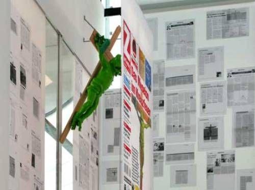 Martin Kippenberger, Fred Frog rings the bell, 1990