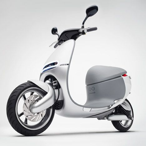 Gogoro launches electric smartscooter to combat pollution for Motorized scooters for teenager