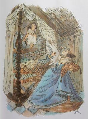 Znalezione obrazy dla zapytania szancer księzniczka na ziarnku grochu obraz