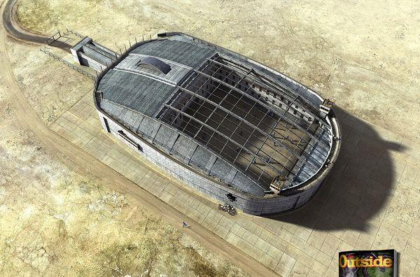 Go Outside Magazine - Jailhouses by Felipe Luchi, via Behance