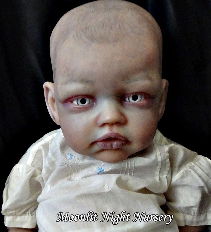 80 Best Moonlit Night Reborn Nursery Art Dolls Images On