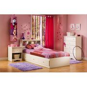 American Furniture Warehouse -- Virtual Store -- 3550080 Crystal Mates bed by South Shore Furniture