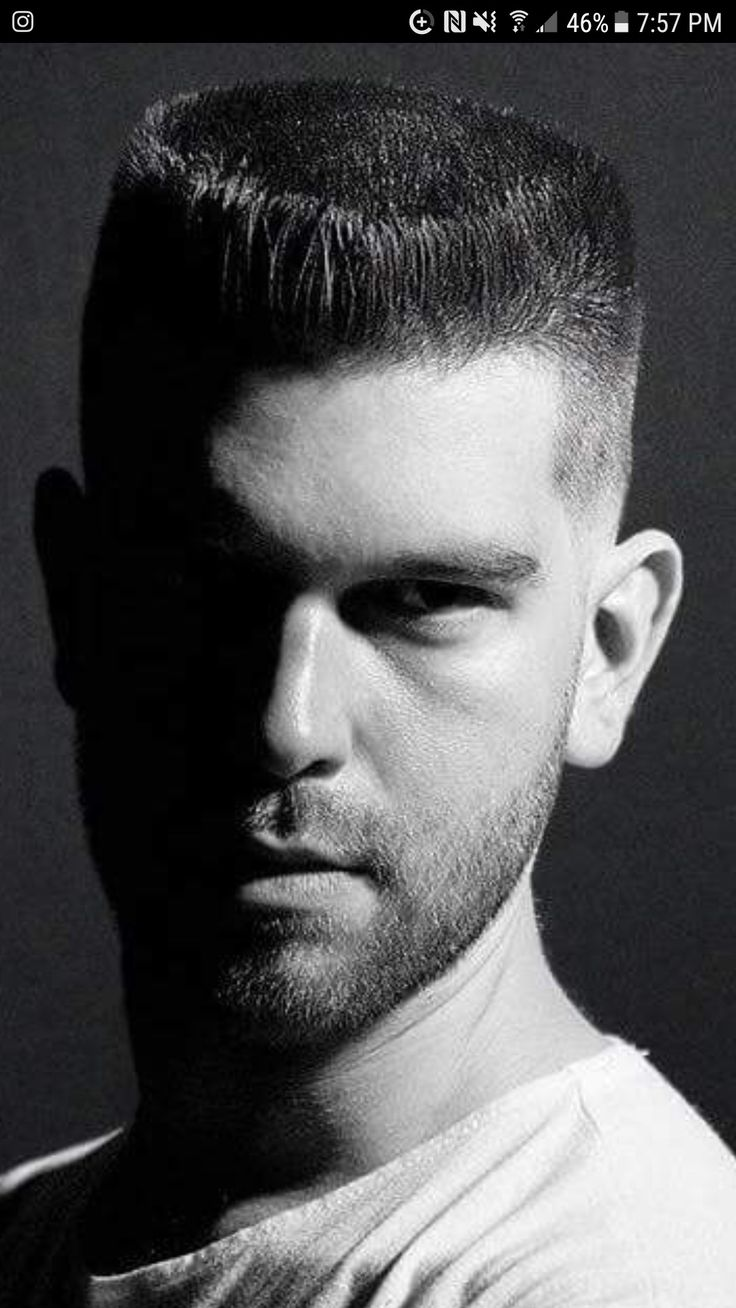 Attractive Hot Haircuts, Male Hairstyles, Flat Top Haircut, Modern Pompadour, Stylish  Hair, Facial Hair, Menu0027s Grooming, Beard Haircut, Rockabilly