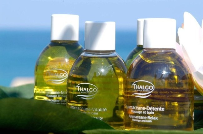 THALGO has several exclusive massage oils that we use in our protocols and for home care use.