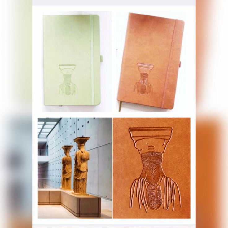 Notebooks for the Acropolis Museum Shops! Production : Prepack Design : Elena Zournatzi