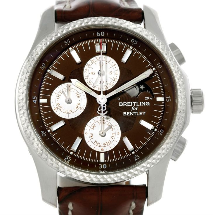 Breitling Bentley Mark VI Complications Steel Platinum Watch P19362