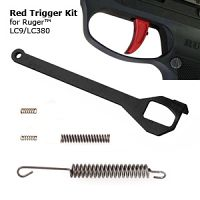 35% Shorter Stroke Trigger Bar, Springs, and Trigger for Ruger LC9/LC380