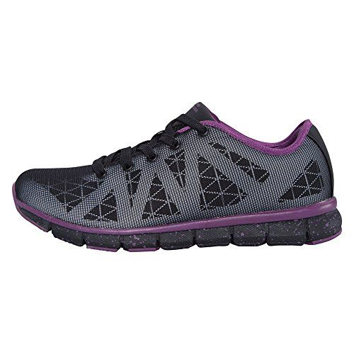 Mountain Warehouse Velocity Womens Reflective Running Shoes Black 10 M US Women * More info could be found at the image url.(This is an Amazon affiliate link and I receive a commission for the sales)