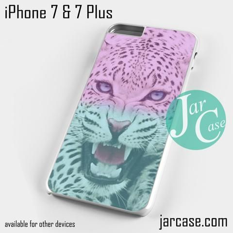 leopard hipster Phone case for iPhone 7 and 7 Plus