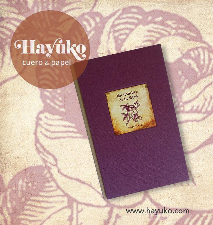 Encuadernación del libro El nombre de la rosa terminada, ya se pueden disfrutar con las investigaciones de  fray Guillermo de Baskerville y Adso de Melk.   https://www.etsy.com/es/shop/HayukoCueroyPapel www.hayuko.com  https://www.facebook.com/hayukocueroypapel  https://www.instagram.com/hayukocrafts/ https://www.pinterest.com/infohayuko http://issuu.com/hayukocueropapel